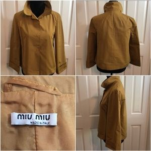 Mix Miu jacket authentic